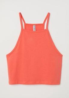 H&M H & M - Short Camisole Top - Orange