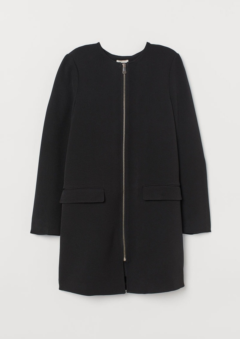 H&M H & M - Short Coat - Black