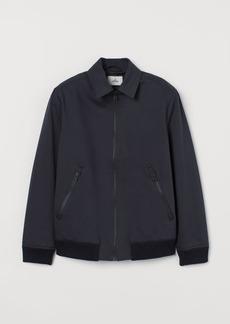 H&M H & M - Short Cotton Jacket - Blue