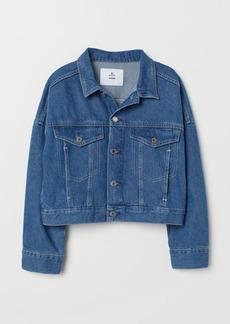 H&M H & M - Short Denim Jacket - Blue