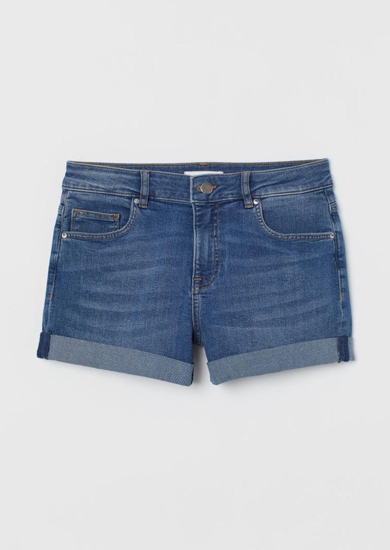 H&M H & M - Short Denim Shorts - Blue