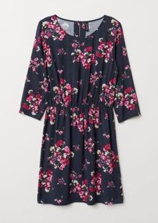 H&M H & M - Short Dress - Blue