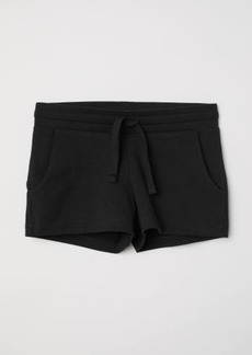 H&M H & M - Short Jersey Shorts - Black