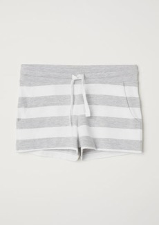 H&M H & M - Short Jersey Shorts - White