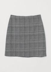 H&M H & M - Short Jersey Skirt - Black