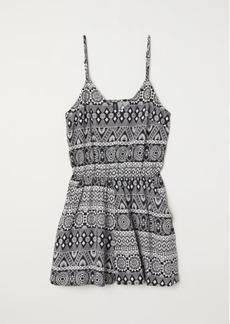 H&M H & M - Short Jumpsuit - Black