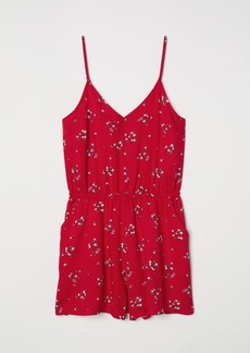 H&M H & M - Short Jumpsuit - Red
