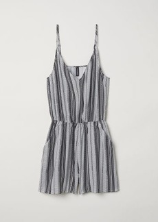 H&M H & M - Short Jumpsuit - White