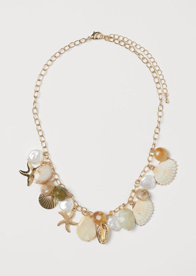 H&M H & M - Short Necklace - Gold