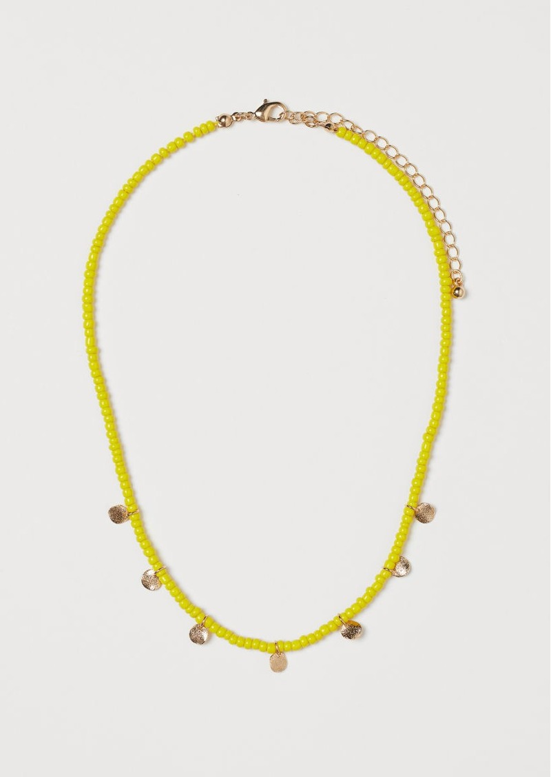 H&M H & M - Short Necklace - Yellow