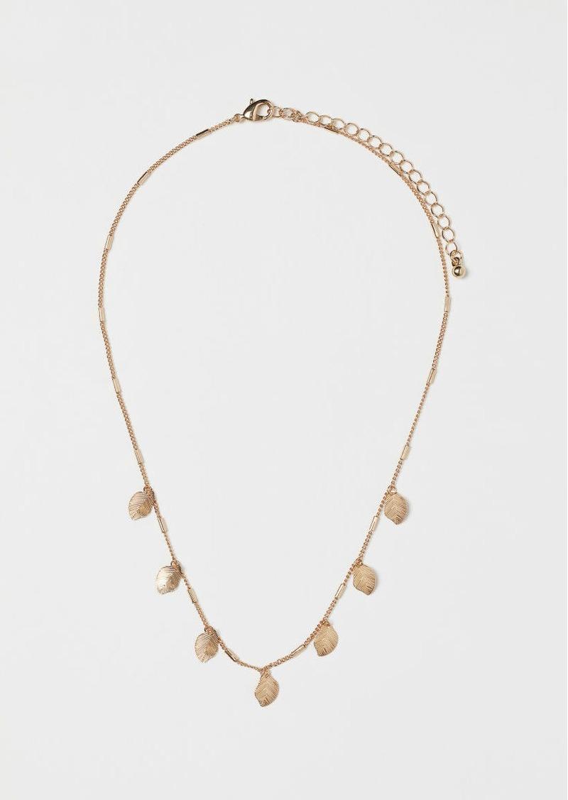 H&M H & M - Short Necklace with Pendants - Gold