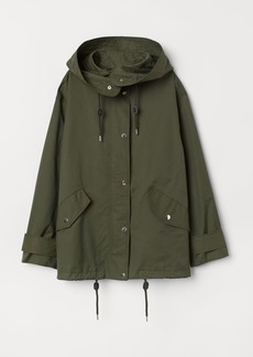 H&M H & M - Short Nylon-blend Parka - Green