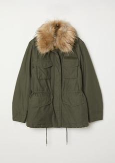 H&M H & M - Short Parka - Green