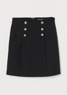 H&M H & M - Short Skirt - Black