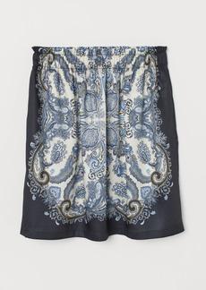 H&M H & M - Short Skirt - Blue
