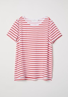 H&M H & M - Short-sleeved Blouse - Red