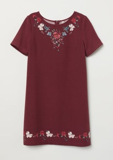 H&M H & M - Short-sleeved Dress - Red