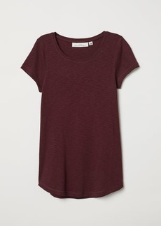 H&M H & M - Short-sleeved Jersey Top - Red