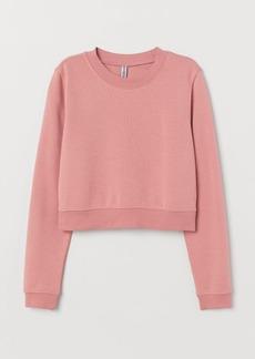 H&M H & M - Short Sweatshirt - Pink