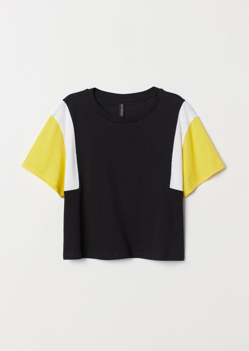 ba03bede0245a5 H M H   M - Short T-shirt - Black
