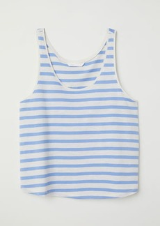 H&M H & M - Short Tank Top - Brown