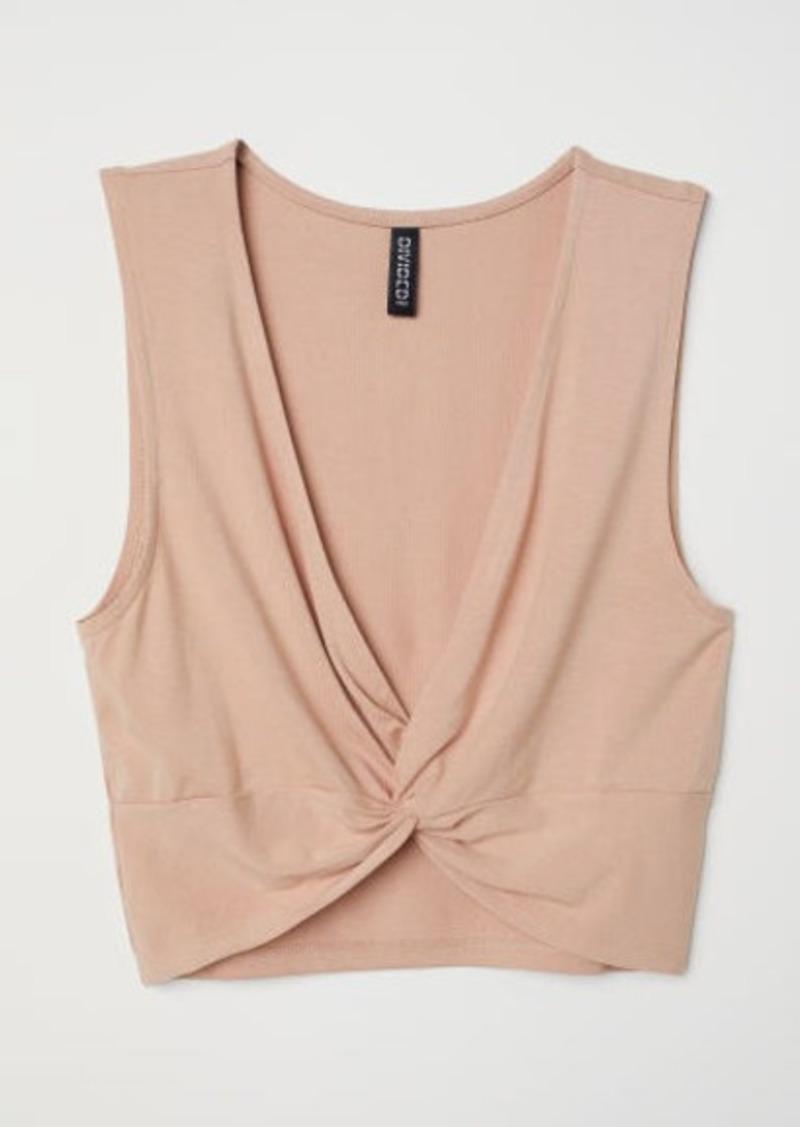 H&M H & M - Short Top - Orange