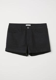 H&M H & M - Short Twill Shorts - Black