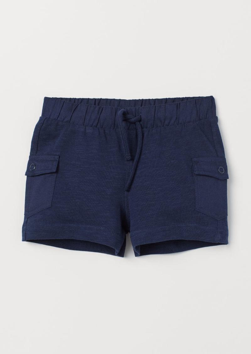 H&M H & M - Shorts with Leg Pockets - Blue