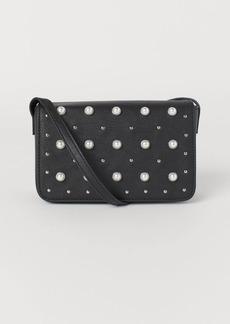 H&M H & M - Shoulder Bag with Studs - Black