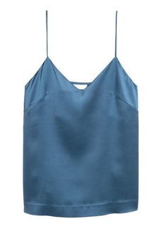 H&M H & M - Silk strappy top - Blue
