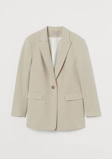 H&M H & M - Single-breasted jacket - Beige