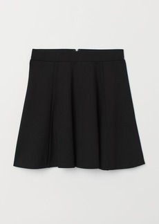 H&M H & M - Skater Skirt - Black