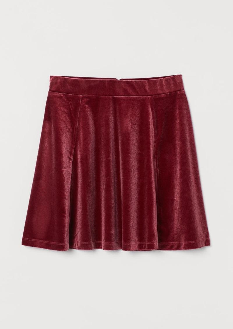 H&M H & M - Skater Skirt - Red