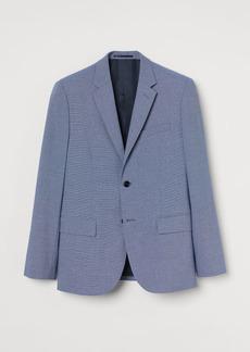 H&M H & M - Skinny Fit Blazer - Blue