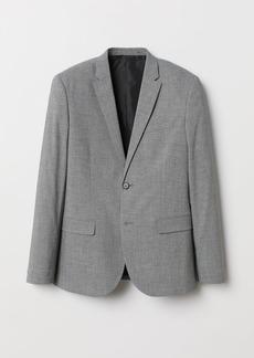 H&M H & M - Skinny Fit Blazer - Gray