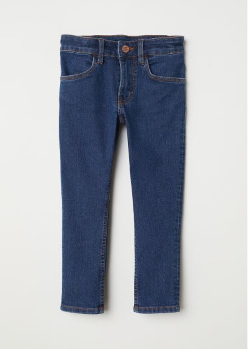 H&M H & M - Skinny Fit Jeans - Blue