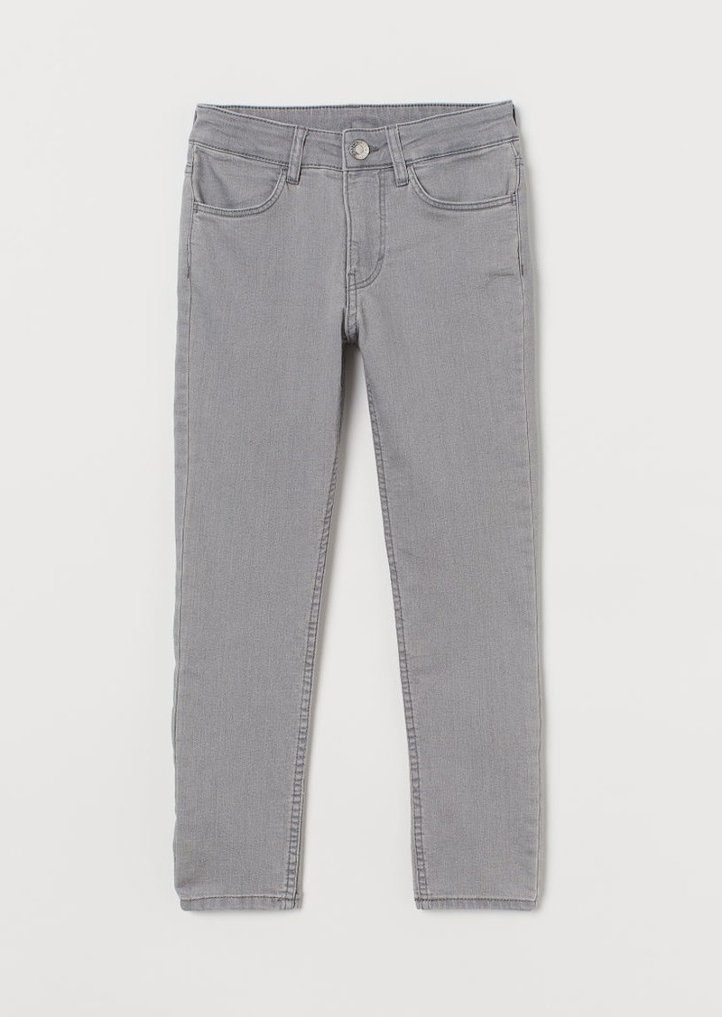 H&M H & M - Skinny Fit Jeans - Gray