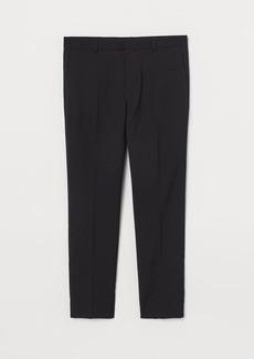 H&M H & M - Skinny Fit Suit Pants - Black