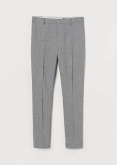 H&M H & M - Skinny Fit Suit Pants - Gray