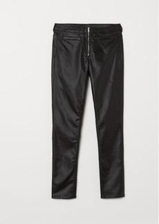 H&M H & M - Skinny High Ankle Jeans - Black