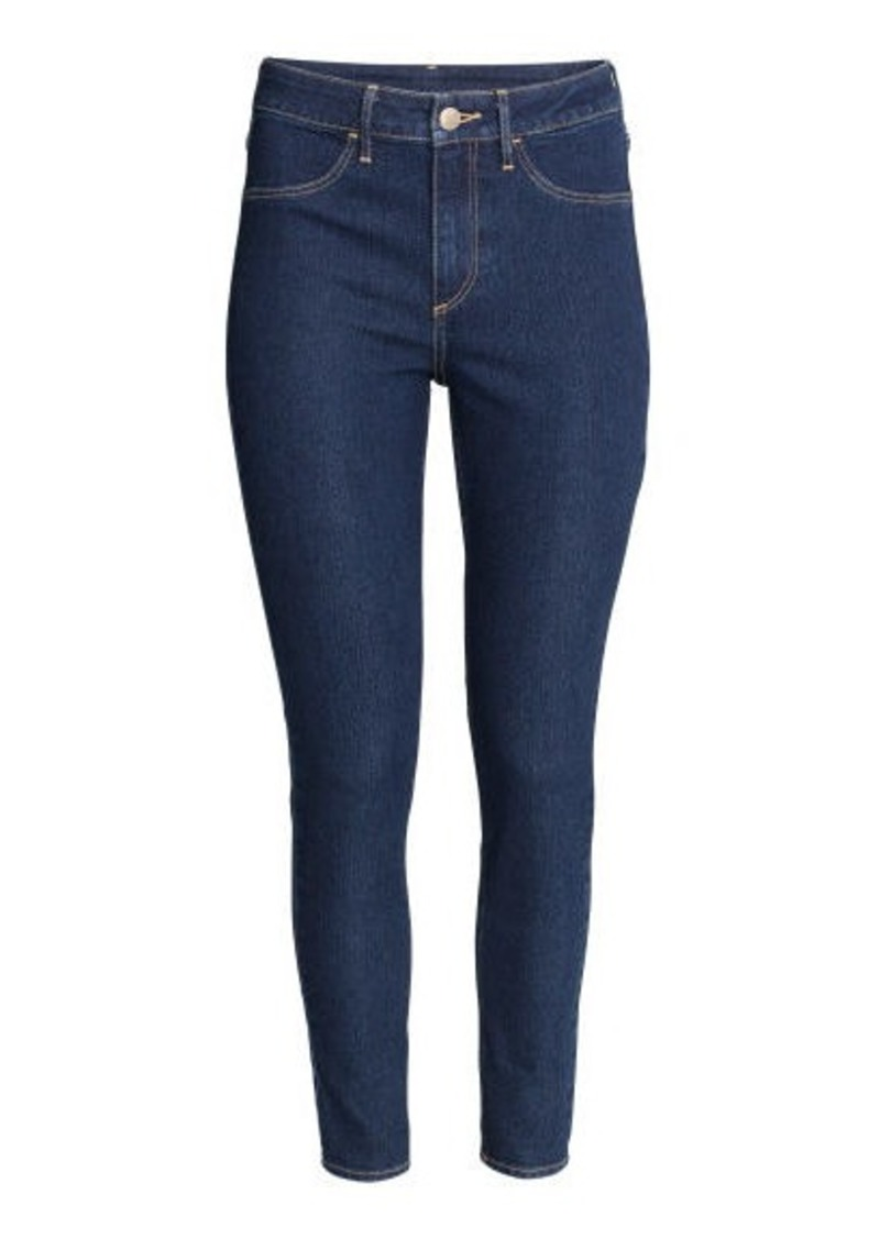 ac7d6b90c8cf3 H&M H & M - Skinny High Ankle Jeans - Blue | Denim