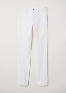 H&M H & M - Skinny High Ankle Jeans - White