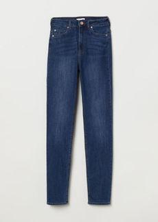 H&M H & M - Skinny High Jeans - Blue