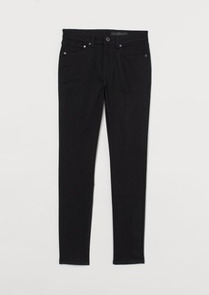 H&M H & M - Skinny No Fade Black Jeans - Black