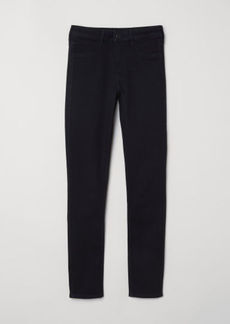 H&M H & M - Skinny Regular Ankle Jeans - Black