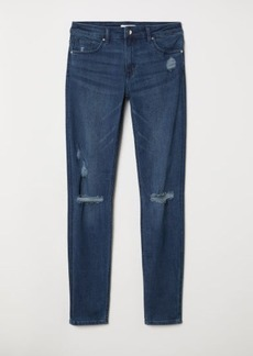 H&M H & M - Skinny Regular Jeans - Blue