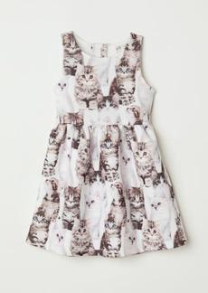 H&M H & M - Sleeveless Dress - White