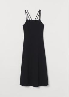 H&M H & M - Sleeveless Jersey Dress - Black