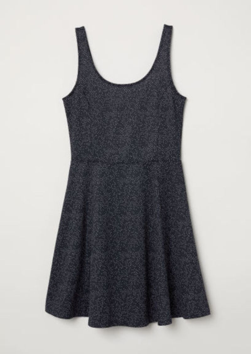 H&M H & M - Sleeveless Jersey Dress - Blue
