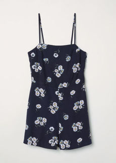 H&M H & M - Sleeveless Jumpsuit - Blue